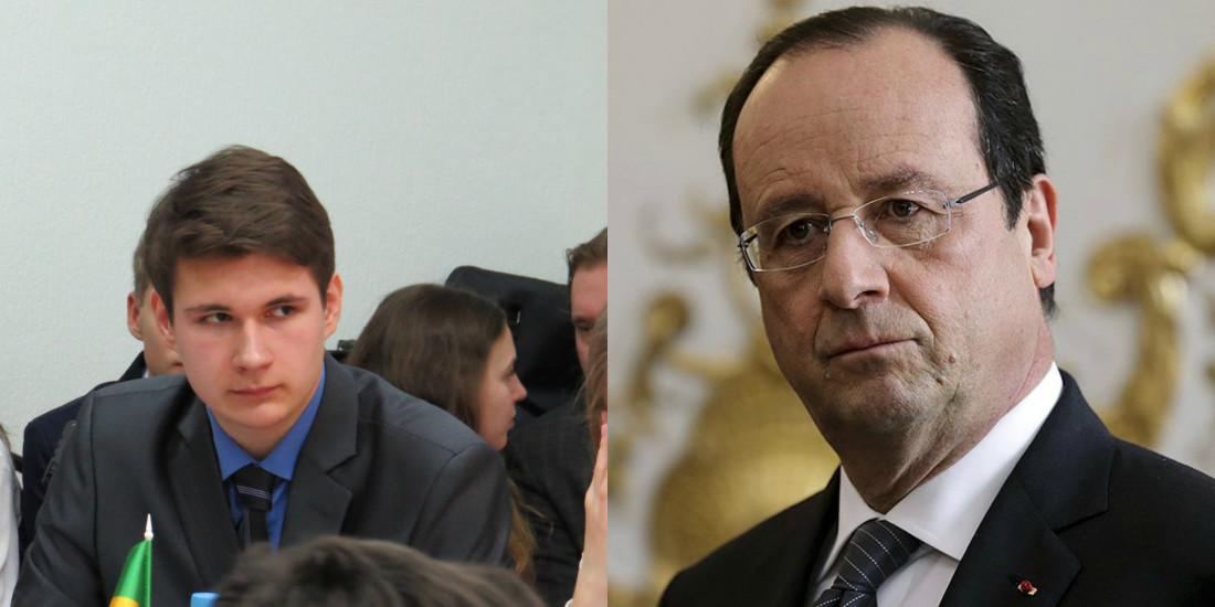 Василий Нигматуллин(Президент Франции)