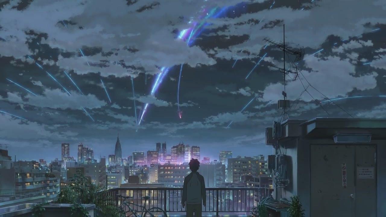 Кадр из аниме